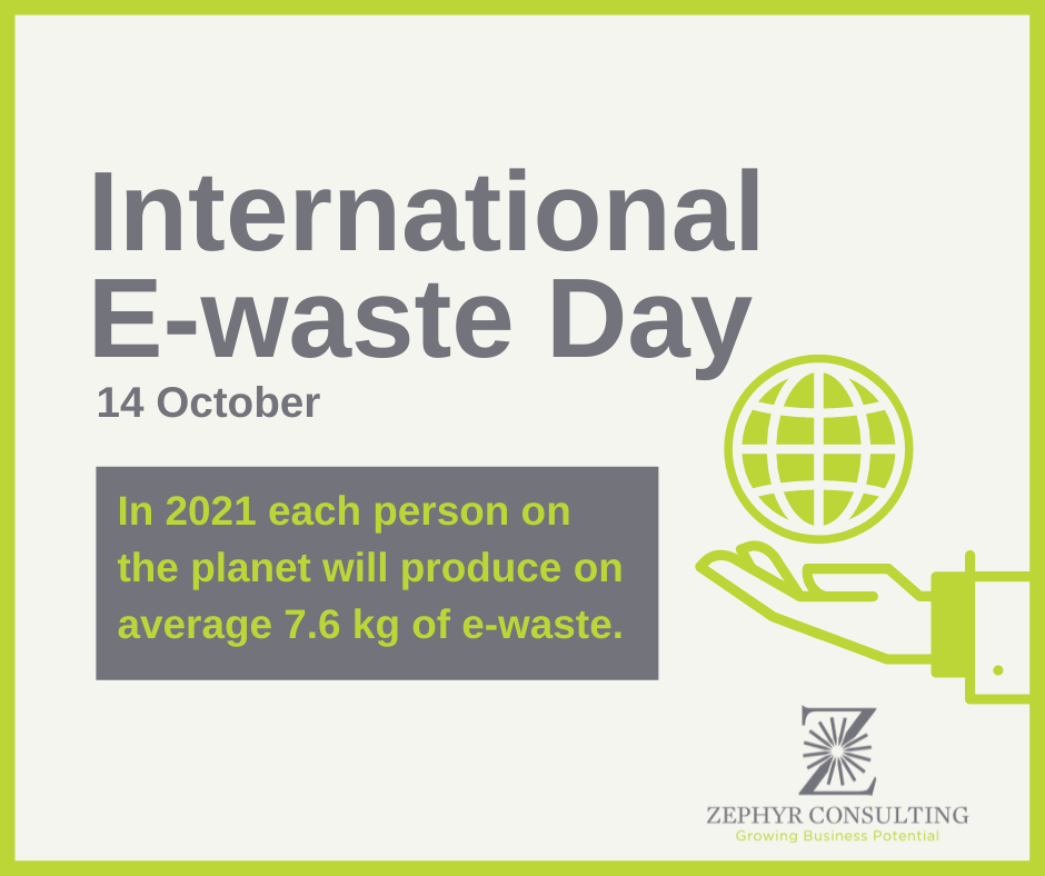 14 October: International E-Waste Day – What Do We Do With Our E-Waste?